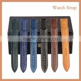 China Crafts Factory Guangdong Salmon Leather Watch Belt