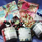 fat quarters and jelly rolls