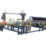 Mattress roll packing production line