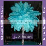 FTH05 Table Centerpiece Tree Blue Ostrich Feathers For Sale