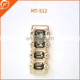 black jewelry stone buckle for belts decoration
