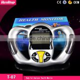 Digital LCD Handheld BMI Tester Body Fat Monitor Health Analyzer Fat Ratio Meter Weight Monitor With 5 Fat Levels