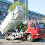 CNHTC 2 axles garbage compactor