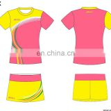 team professional custom badminton jersey for lady