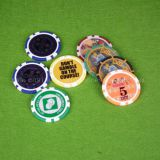 Factory Supplier Ceramic Poker Chip For Home Play / Roulette