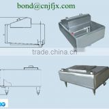 Milk Receiving Tank, Milk weighting tank