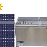 100L Double Cabinet DC Compressor Chest Freezer with Solar Power System