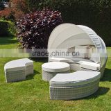 Comtemporary poly Rattan Subed with capony
