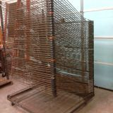 Heavy-Duty Screen Printing Finishing Mesh Clothes Drying Rack
