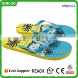 cheap personalized plastic slipper bulk price pe flip flop