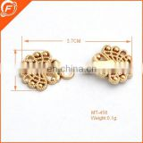 fantastic design good quality imitation gold color hook and eye for garment dress
