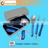 foldable dinnerware set
