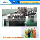 liquid soap bottle filling capping and labeling machine