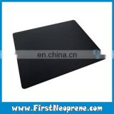 Middle Size Black Color Simple Mouse Pad Customized Logo