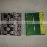 SAREE COVERED PAPER NOTEBOOKS SET OF 3 PCS SET