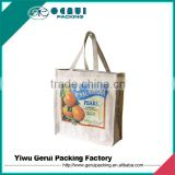 Promotional Cotton Canvas bag/cotton canvas tote bag/cotton canvas bags