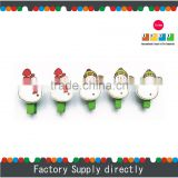 New Colorful Christmas Snowman Wooden Clip, Wood Craft Snowman Decoration