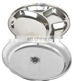 Stainless Steel Mess Tray Compartment Tray Food Tray & Meal Tray