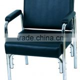 salon furniture; waiting chair for hair washing and hairdressing