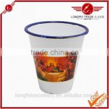 All kinds of size of design and color ceramic snow cone cup/cups
