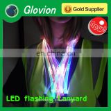 New Design TPU LED lanyards TPU LED lanyards for party single flashing lanyard