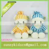 2014 toys plush off-white bear soft plush bear with baby toys manufacturer