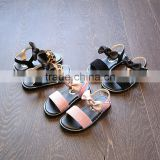 B22224A Stylish girls sandals cool summer beach sandals