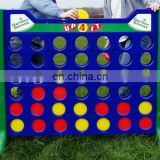 Outdoor connect four game Garden 4 in a line game for kids