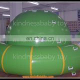 PVC inflatable water park game saturn water globe inflatable climb wall