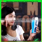Manufacture Portable 5V Blue/Green/Pink Rechargeable Electric Handy Facial Mini Ultrasonic Humidifying Sprayer