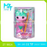 New !Eco-friendly Button Girl( the mermaid doll series)+star bag barbie doll (2 model mixed)
