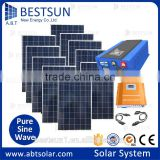 BESTSUN 10KW Household off grid /grid tie 10000w solar power system home / solar power generator