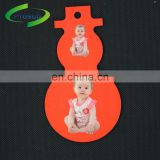 China cheapest personalized MDF snowman pendant