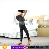 Breathable Heather grey maternity Bamboo leggings