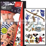 Colorful Temp Tattoo Kid temporary tattoos sticker - Pirate boy