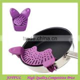 Factory supplier Foldable Clip-On Snap and Strainer Clip Colander
