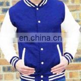 Uniseason custom nylon varsity jackets/Men's Fashion Varsity Jacket - Light jacket - navy/white