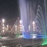 Square music Fountain
