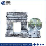 France Paris triumphal arch Snow globes