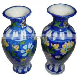 Blue Pottery Flower Pot , Blue Pottery plant Gamla