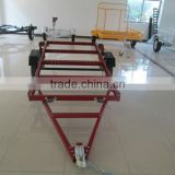 4x8 ft Utility Trailer /red folding trailer