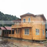 FBRWH007 outdoor modern prefabricated modular log Wood house