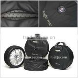 spare car tire cover with handle 4pcs per set wheel cover
