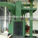 Steel Sheet, H Beam Channel electrical industrial automatic shot sand blasting machine Q69 series