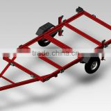 Small Utility Trailer--TR0401-2 Folding trailer