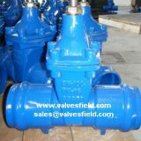 Gate Valve, Socket Ends, Non Rising Stem