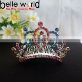Fancy Rhinestone Tiara Wedding Hair Comb Clip