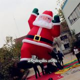High Quality 6m Height Oxford Inflatable Santa for Christmas Decoration