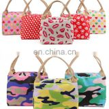Wholesale fashion cooler bag polyester printing lunch bag from factory