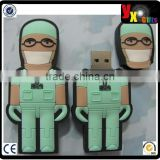 PVC Material and 32MB-64GB Capacity swivel usb flash drive